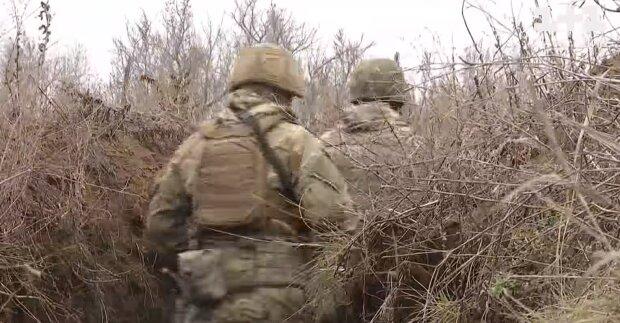 Украинские военнослужащие, скриншот: Youtube