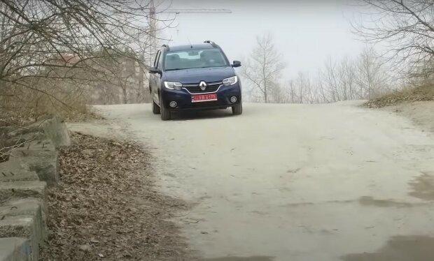 Renault Logan MCV, скріншот