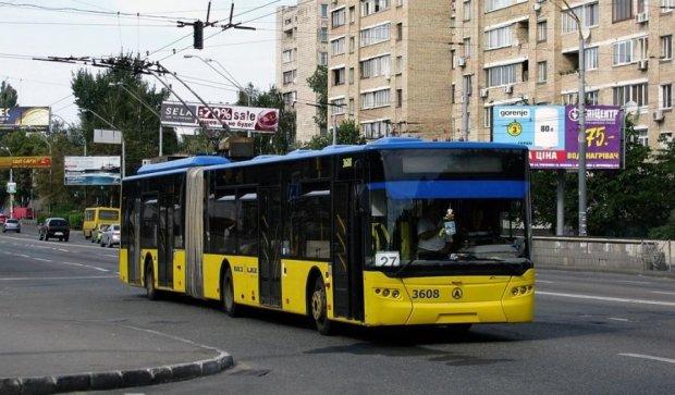 Київський громадський транспорт знову змінить маршрути