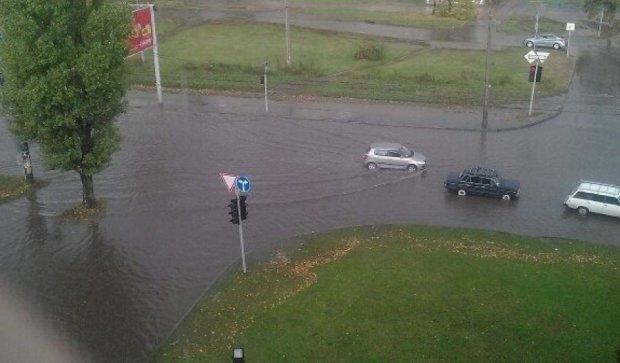 Из-за дождя в Харькове случился конец света