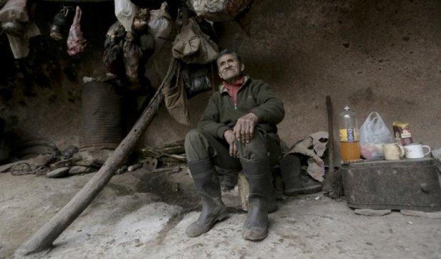 Аргентинский отшельник 40 лет живет в пещере