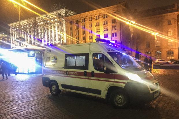 В центре Киева ранили полицейского