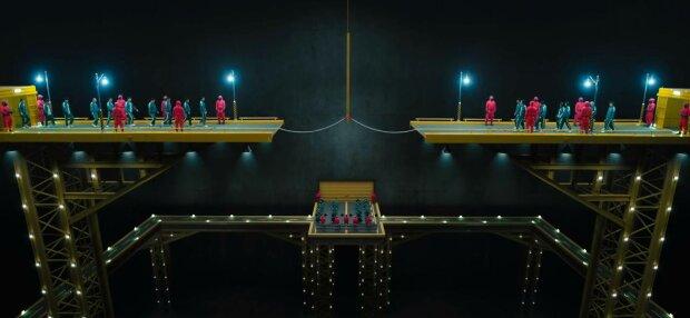 Гра в кальмара, фото: скріншот з відео