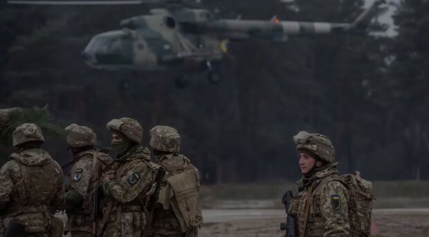 українські захисники, скріншот з відео