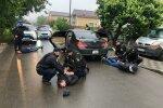 Стрілянина під Києвом // фото очевидців