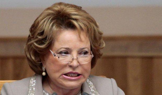 США дадут Матвиенко «ограниченную» визу