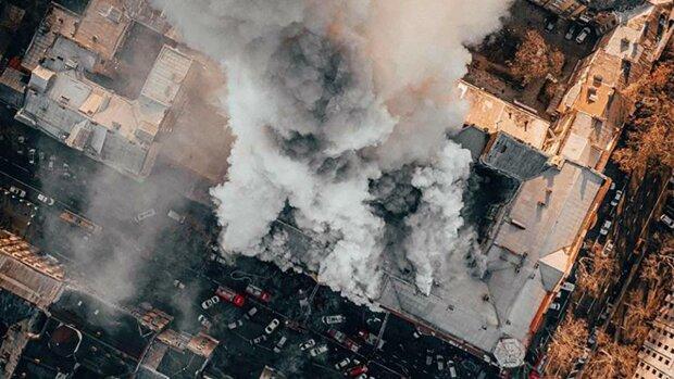 """Пожар в Одесском колледже пытаются """"похоронить"""": документы уничтожены дотла"""