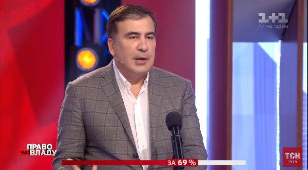 """""""Я увидел в глазах надежду"""": вдохновленный Саакашвили заговорил на украинском, вернувшись в Киев"""