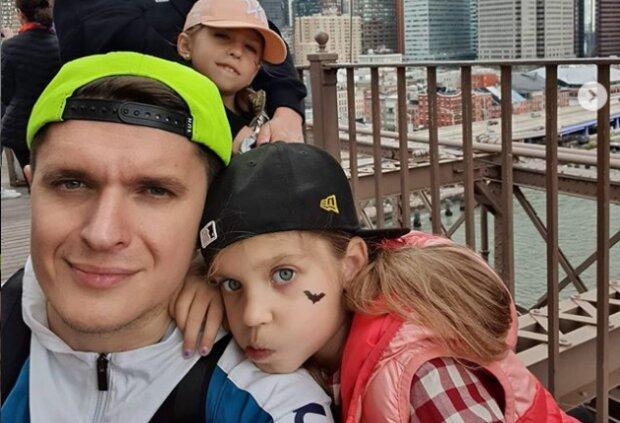 Анатолич с детьми, фото Instagram