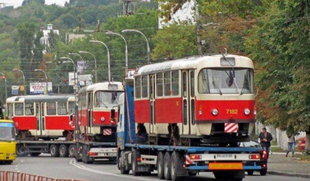 Кличко закупил для столицы 30-летние чешские трамваи (фото)