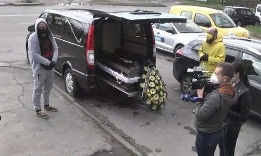 Траурные тернопольские туры - украинцы устроили похоронную процессию, взгрустнули всем городом