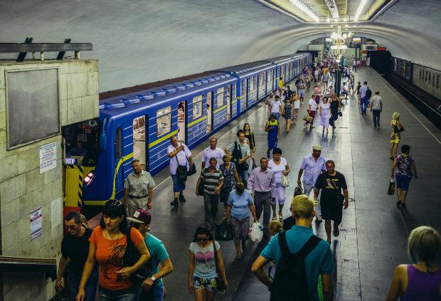 Киевское метро парализовано: придется менять маршруты