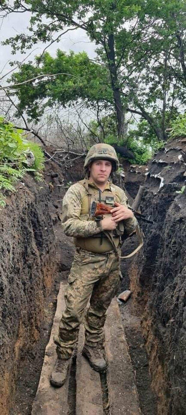 Військовий Денис, фото: ООС Facebook