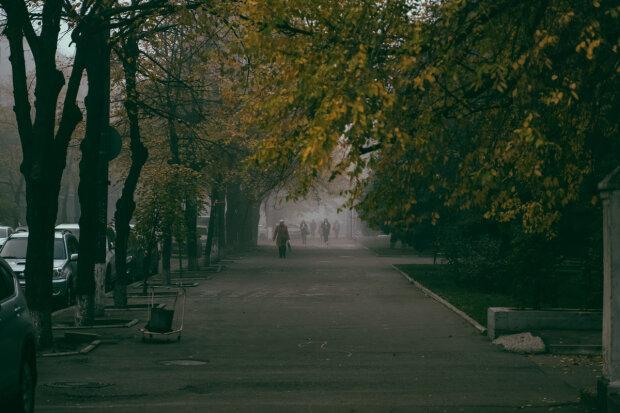 """Осенний Днепр: как выглядит """"золотой"""" город под покрывалом тумана, чарующие фото"""