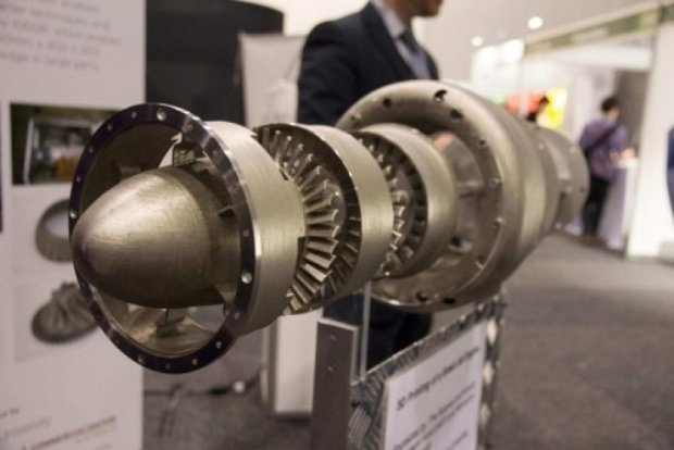 На 3D-принтері надрукували реактивний двигун