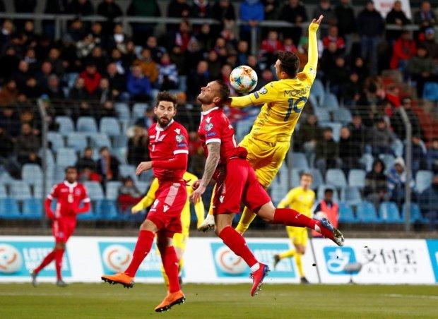 Збірна України вирвала перемогу у Люксембургу