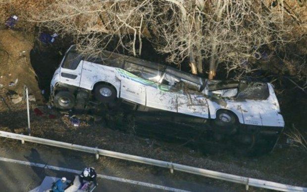 На Львовщине перевернулся автобус с иностранцами: есть пострадавшие