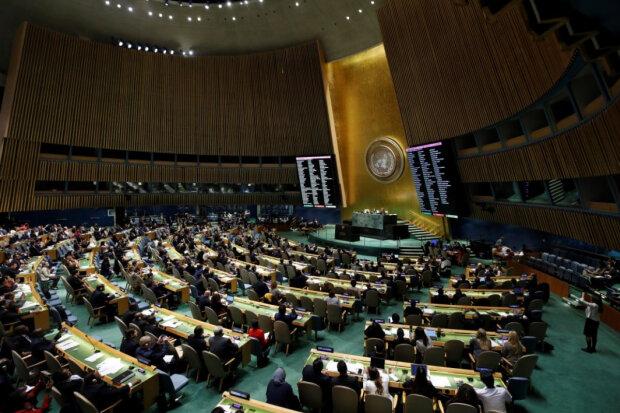За Украину вступились 63 государства: Генассамблея ООН призвала РФ вывести войска и прекратить оккупацию
