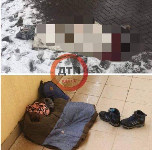 Под Киевом ребенок выбросился из окна, скриншот facebook