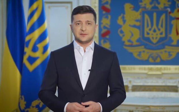 Владимир Зеленский, скрин из видео