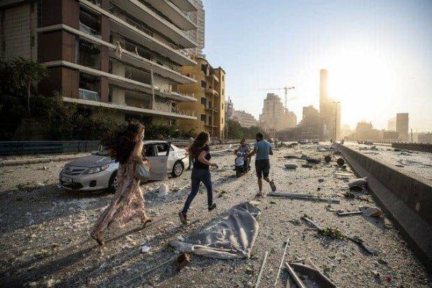 Взрыв в Бейруте, фото: youtube