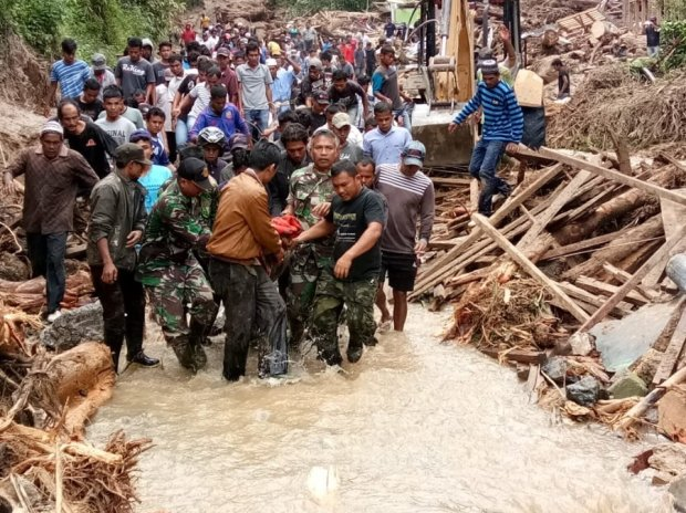 катастрова на Суматре