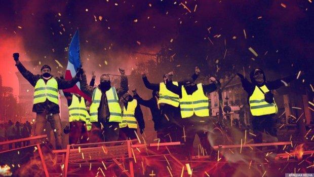 """Протести у Франції: """"жовті жилети"""" перетворилися на червоні, на вулицях справжнє пекло, в хід пішов газ"""