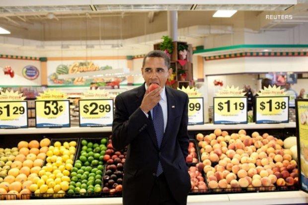Киевлян зовут бесплатно поесть в супермаркетах