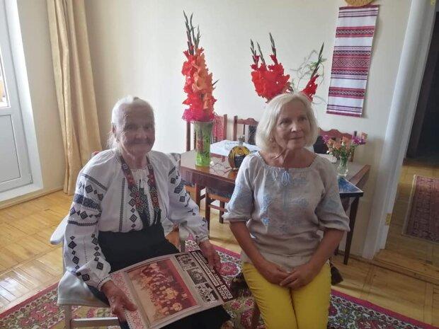 На Франковщине соратница Бандеры отпраздновала 100-летие — верит в счастливое будущее Украины
