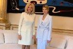 Олена Зеленська зустрілася з Бріджит Макрон і підкорила мережу: неймовірна жінка