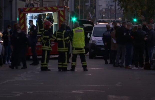 Стрілянина у Франції, скріншот відео