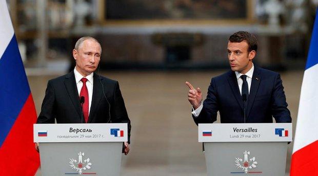 Макрон пригрозив Путіну розправою