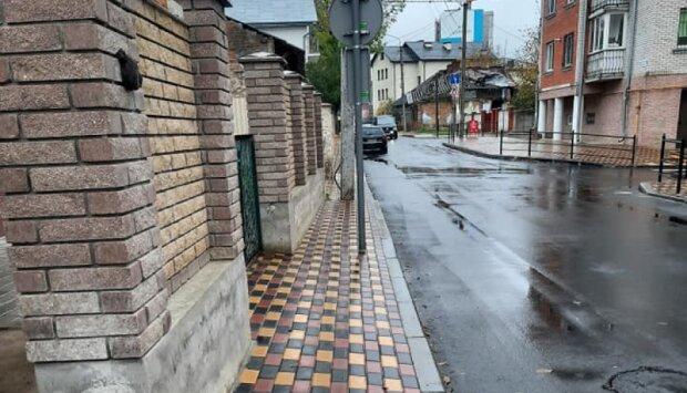 Тротуар для дуже худих - тернополяни обурені халтурою комунальників Надала