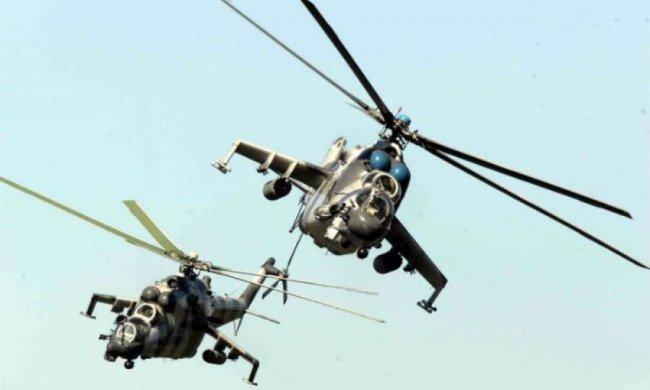 Офіцери Нацгвардії незаконно продали два бойових вертольоти
