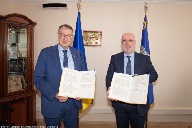 Григол Катамадзе и Антон Геращенко