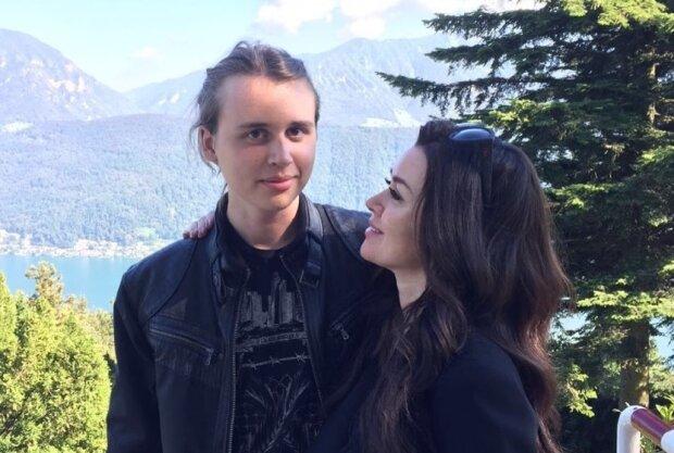 Анастасия Заворотнюк с сыном Майклом, фото: Instagram