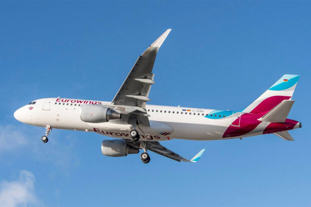 Airbus A320 Eurowings. Фото: Eurowings