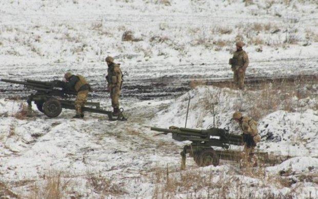 Сутки в АТО: украинские воины встретили перемирие под разрывы мин
