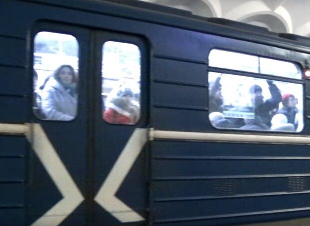 Скрін, відео YouTube метро Харкова