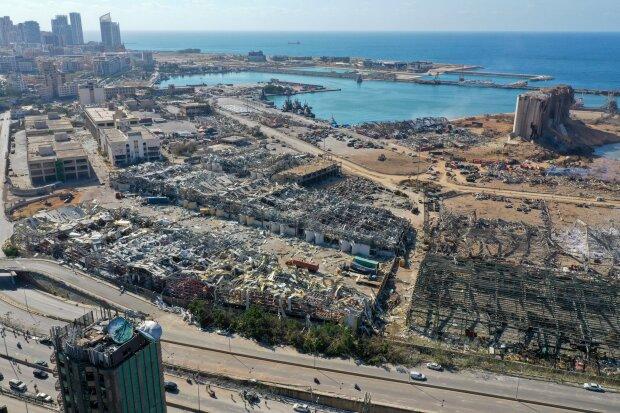 вибух у Бейруті, фото з Twitter