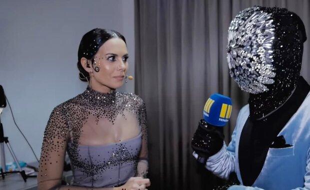 Настя Каменских, скриншот с видео