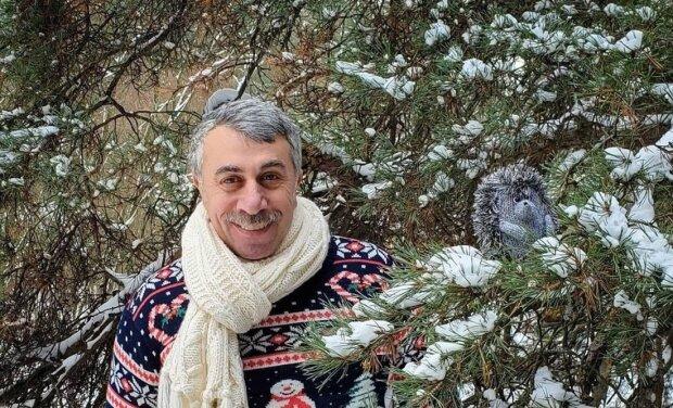 Евгений Комаровский, фото с Instagram