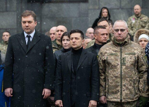 Зеленський вшанував пам'ять, фото з сайту президента