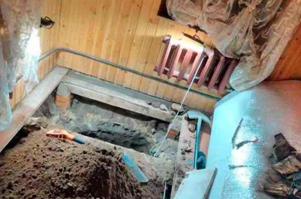 Старинное захоронение обнаружили под домом