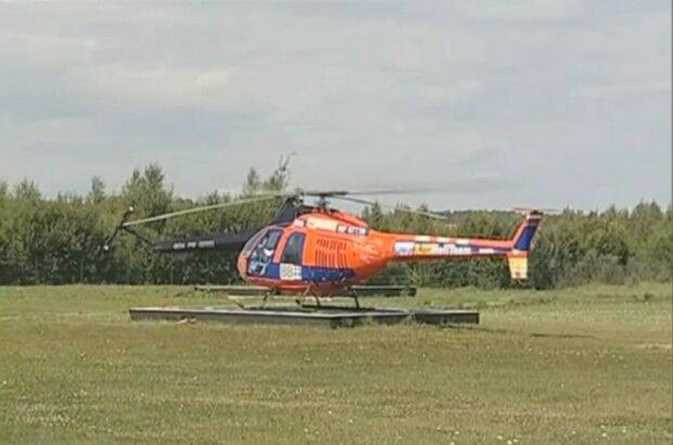 Над елітними дачами Зеленського і слуг в Кончі-Заспі покружляв вертоліт-окупант