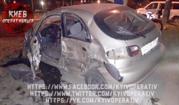 Кривава ДТП у Києві: постраждали люди (фото)