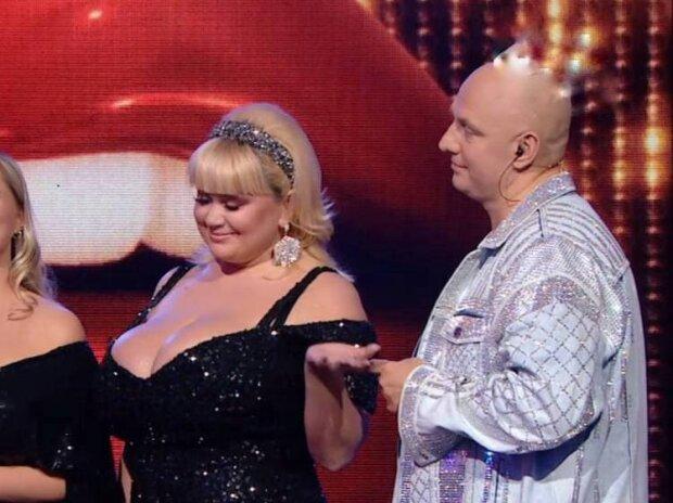Мила Кузнецова и Потап / скриншот из видео