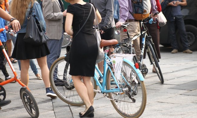 Велосипедисти Львова