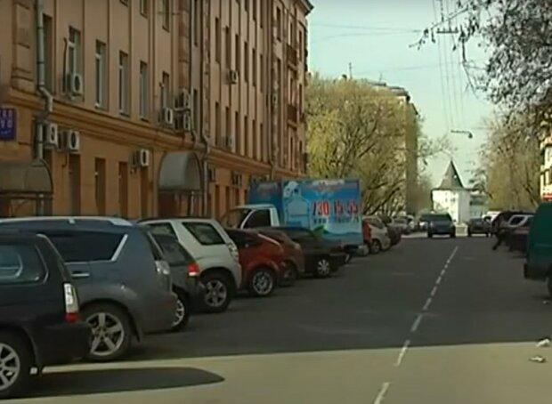 улицы Харькова, скриншот из видео