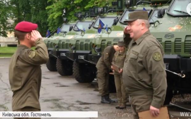 Гвардейцы громко отметили годовщину создания подразделения: видео